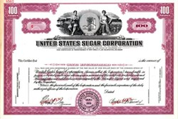 United States Sugar Corporation - Delaware