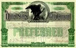 United States Whip Company 1906