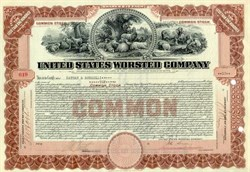 United States Worsted Company 1920
