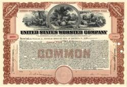 United States Worsted Company 1920