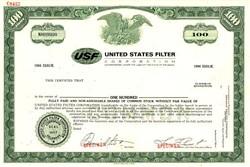 United States Filter Corporation - Delaware
