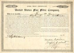 United States Flax Fibre Company - United States 1897