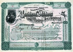 United States Gold Mining and Development Company - 1896