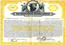 United States Leather Company - Original Dow Average Component - New Jersey 1931