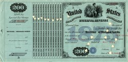 United States Tax License - Rectifier of Distilled Spirits 1875