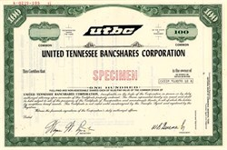 United Tennessee Bancshares Corporation (Now SUNTRUST BANKS, INC. ) - Tennessee 1971