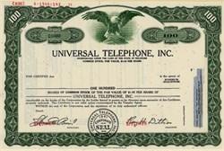 Universal Telephone, Inc. - Delaware 1971