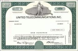United Telecommunications, Inc. (Early U. S. Sprint Corporation)