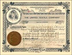 United Textile Company 1917