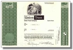 Union Trust Company 1970 - Now First Union Corporation