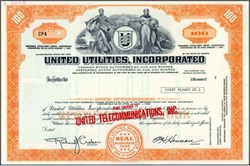 United Utilities, Incorporated (Early United Telecom and Sprint Company)