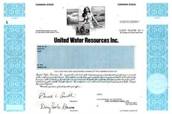 United Water Resources Inc.