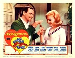 Under the Yum-Yum Tree Lobby Card Starring Jack Lemmon - 1963