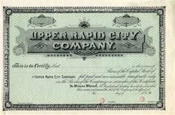 Upper Rapid City Company - South Dakota 189_
