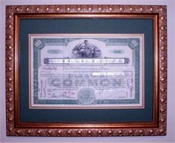 United States Radium Company (Famous Radium Girls Lawsuit) Framed - 1926