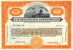 U.S. Securities Corporation - Sphinx and Pyramid Vignette - Nevada