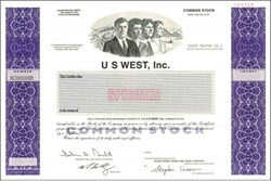 U S West, Inc. - ( Acquired by Qwest )