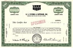 U.S. Systems & Software, Inc. - California 1970