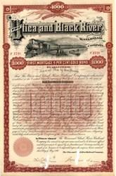 Utica and Black River Railroad Company 1890