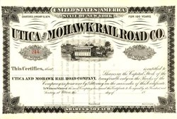Utica and Mohawk Rail Road Company - New York