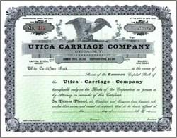 Utica Carriage Company 1890's