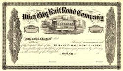 Utica City Rail Road Company