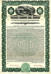 Utilities Elkhorn Coal Company $1000 Gold Bond - Kentucky 1928