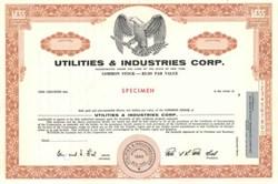 Utilities & Industries Corp. - New York