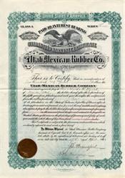 Utah Mexican Rubber Company - Utah 1912