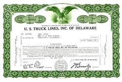 U.S. Truck Lines, Inc. of Delaware - Delaware 1971
