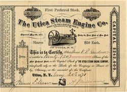 Utica Steam Engine Co. - New York 1871