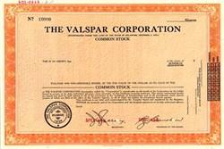 Valspar Corporation - Delaware 1968