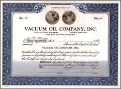 Vacuum Oil Company, Inc. New York