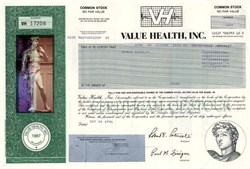Value Health, Inc. - Delaware 1996