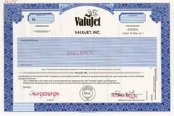 ValuJet, Inc. - Nevada