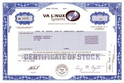 Va linux systems ipo