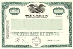 Venture Capitalists, Inc. - Nevada 1983