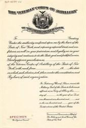 Veteran Corps of Artillery - New York