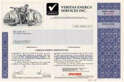 Veritas Energy Services Inc.- Montreal, Canada
