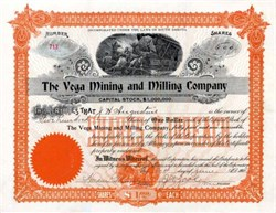 Vega Mining and Milling Company - South Dakota 1902