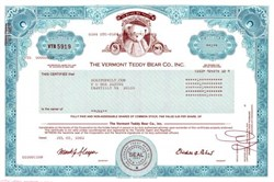 Vermont Teddy Bear Co., Inc.