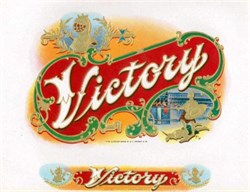 Victory Cigar Label - Knight Image