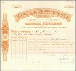 Victoria Gramophones Limited