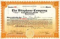Vitaphone Company - Delaware 1916