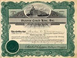 Victoria Coach Line, Inc. - Massachusetts 1927
