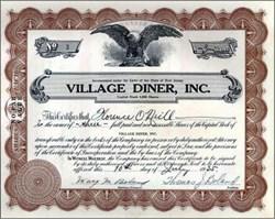 Village Diner, Inc. 1935