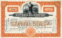 Victoria Oil Company - West Virginia 1920