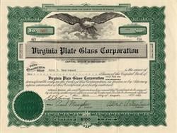 Virginia Plate Glass Corporation - Virginia 1921