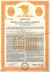 Virginia Public School Authority - Virginia 1974