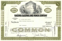 Virginia Electric and Power Company ( Early Dominion Resources Company )
